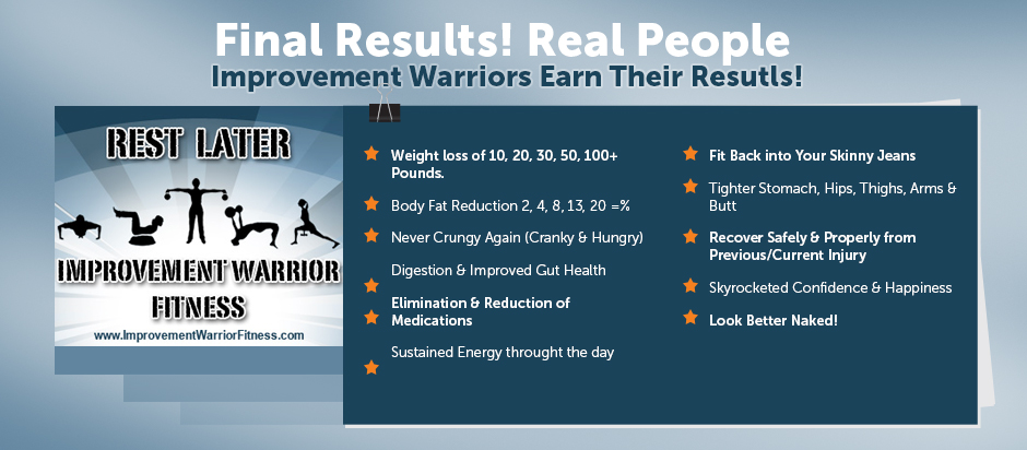 Improvement warrior fitness weight loss boot camp hilliard