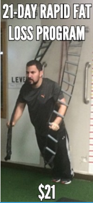 Derek Grosso works out at Improvement Warrior Fitness Hilliard