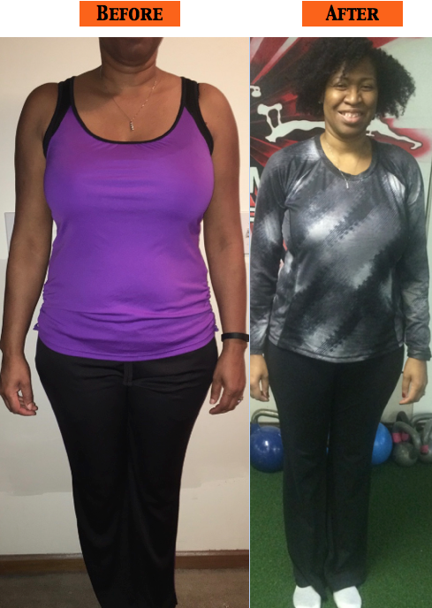 transformation nutrition contest from Improvement warrior fitness