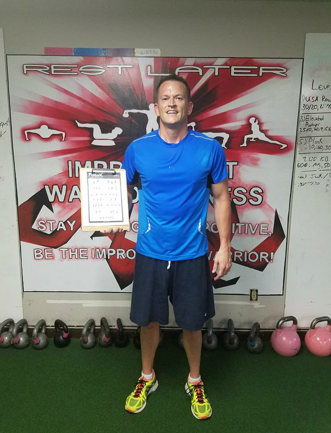Improvement Warrior Fitness Fitranx training gym Hilliard